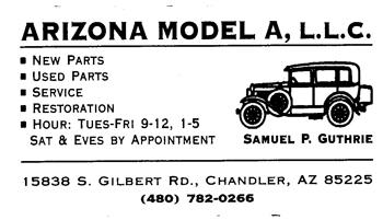Arizona Model A - Click to go to website